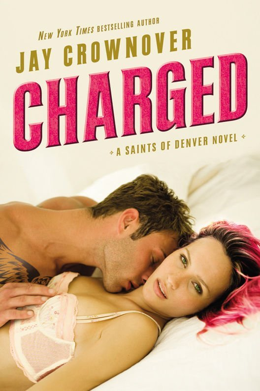 Cover Reveal for Jay Crownover's CHARGED